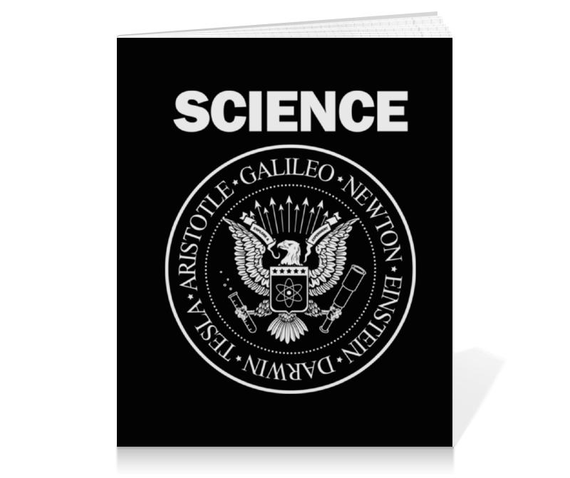 Тетрадь на клею Printio Наука тетрадь на клею printio слоупок
