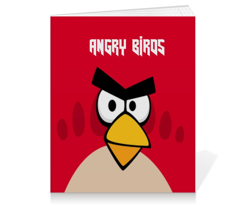 Тетрадь на клею Printio Angry birds (terence) плакат a3 29 7x42 printio angry birds terence