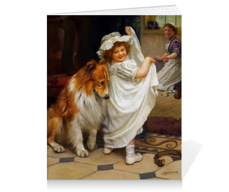 Тетрадь на клею Printio Картина артура элсли подарочная коробка большая пенал printio картина артура элсли