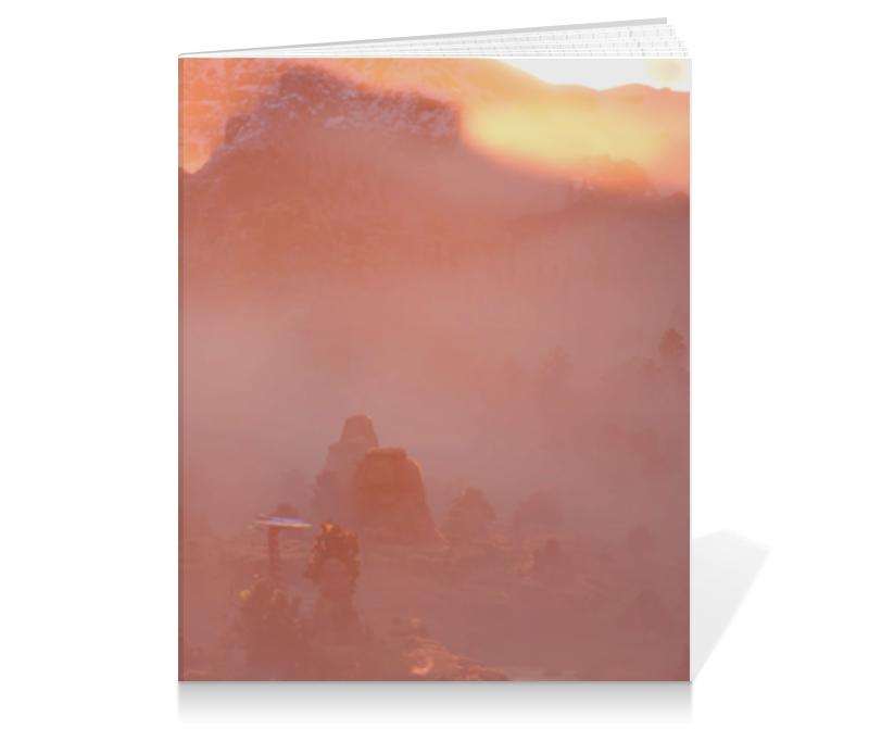 Тетрадь на клею Printio Horizon zero dawn недорго, оригинальная цена