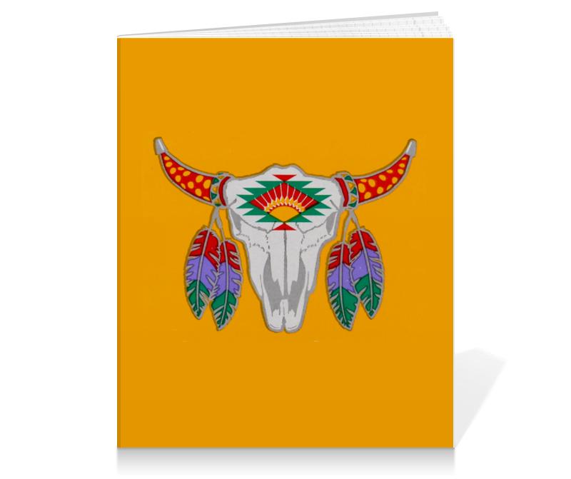 Тетрадь на клею Printio Этнический бык блокнот printio этнический бык
