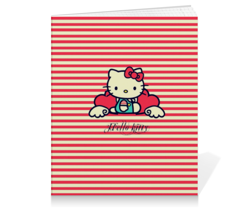 Тетрадь на клею Printio Ретро (hello kitty) adriana pasta spaghetti express 2 minuti паста 500 г
