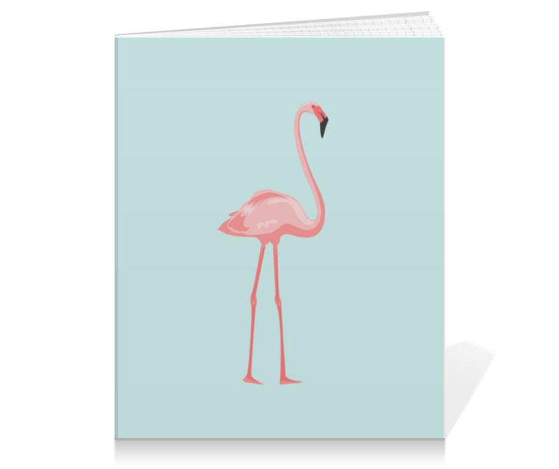 Тетрадь на клею Printio Розовый полет полет на аэрошюте