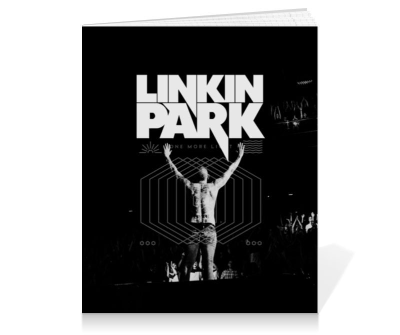 Тетрадь на клею Printio Linkin park тетрадь на пружине printio linkin park
