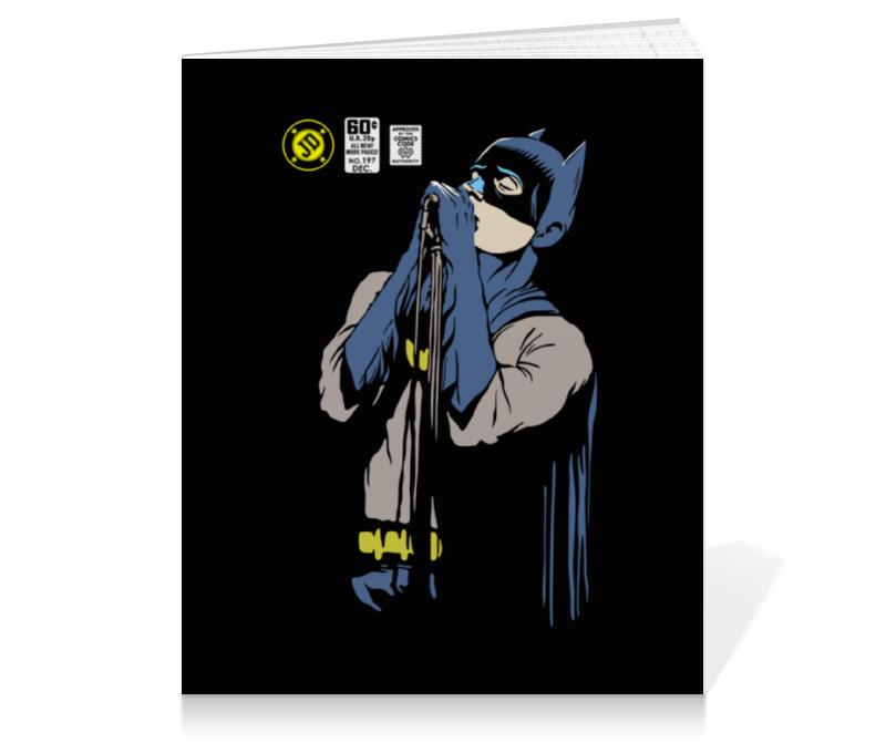 Тетрадь на клею Printio Бэтмен иэн кёртис