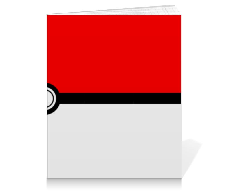 Тетрадь на клею Printio Pokeball тетрадь на клею printio pixels