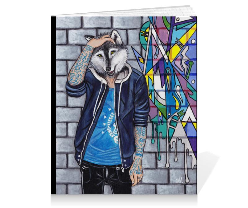 Тетрадь на клею Printio Граффити картины decoretto картина граффити 7