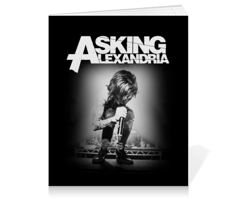 Тетрадь на клею Printio Asking alexandria тетрадь на клею printio космос