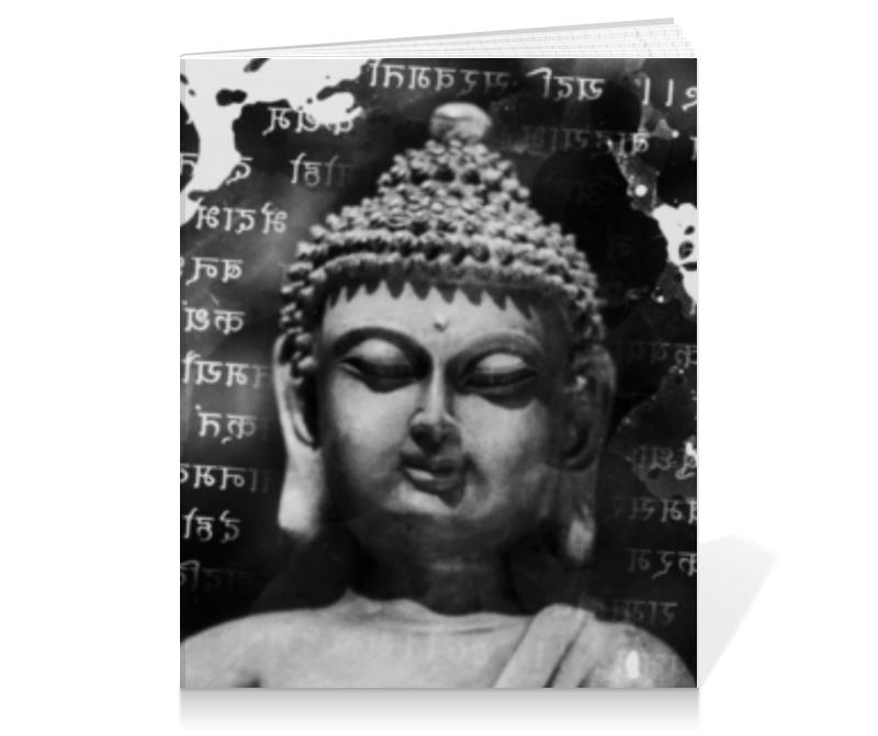 Тетрадь на клею Printio Будда (письмена) цена