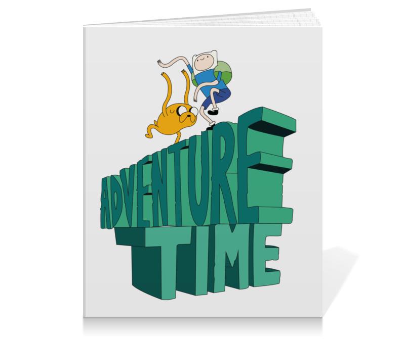 Тетрадь на клею Printio Время приключений цена