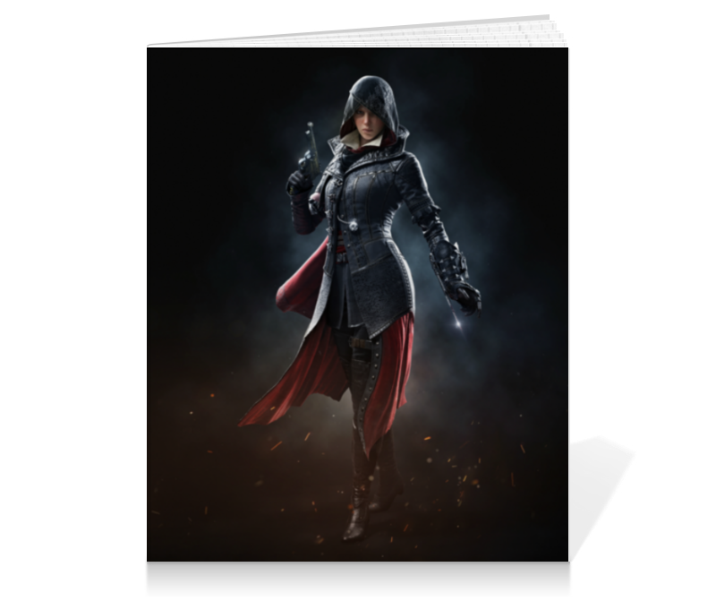 Тетрадь на клею Printio Assassin's creed ivi тетрадь на клею printio heroes of the storm