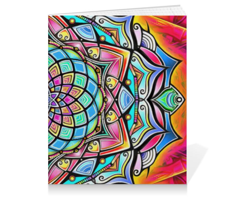 Тетрадь на клею Printio Mandala hd2 коврик для мышки круглый printio mandala hd2