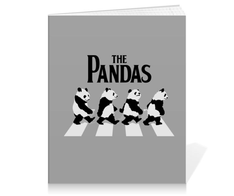 Тетрадь на клею Printio The pandas. панды жидкость pandas apple target 60мл 3 мг