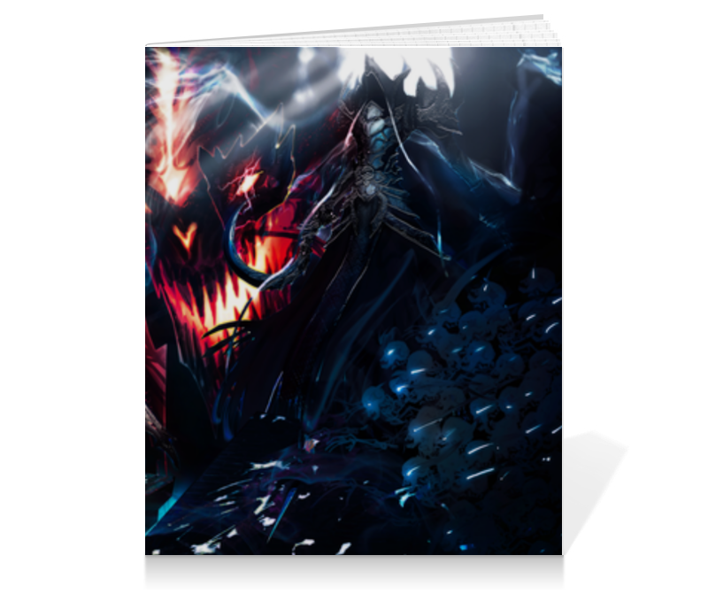Тетрадь на клею Printio Diablo iii видеоигра для pc diablo iii reaper of souls дополнение