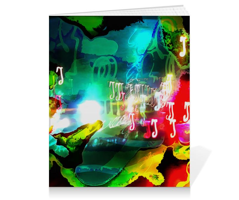 Тетрадь на клею Printio Abstract raster 160