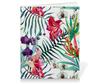 """Тетрадь на клею """"Тропические цветы"""" - милый, лето, пальма, орхидея, женственно"""
