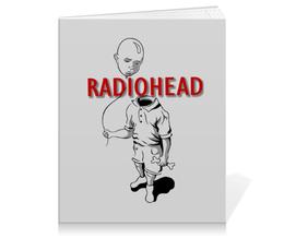 "Тетрадь на клею ""Radiohead"" - музыка, рок, группы, radiohead"