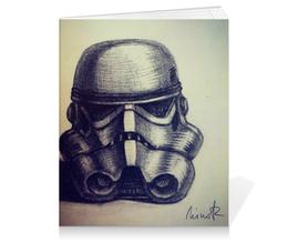 """Тетрадь на клею """"Stormtrooper"""" - звездные войны, star wars, штурмовик, stormtrooper"""