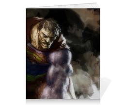 "Тетрадь на клею ""Бизарро"" - комиксы, superman, супермэн, dc comics, bizarro"