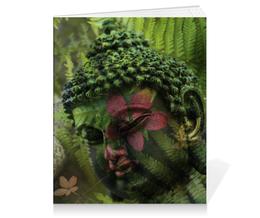 "Тетрадь на клею ""Будда "" - природа, buddha, будда, буддизм, духовность"