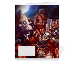 "Тетрадь на клею ""WarCraft: Орк"" - wow, warcraft, орк, варкрафт, ork"