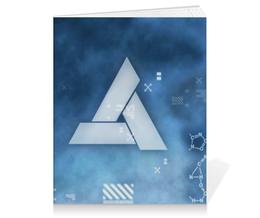 "Тетрадь на клею ""Assassin's Creed"" - assassins creed, altair, abstergo"