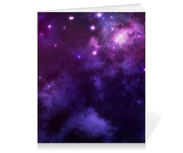 """Тетрадь на клею """"Космос"""" - арт, звезды, рисунок, космос, дизайн"""