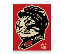 """Тетрадь на клею """"Chairman Meow"""" - meow, котэ, мао, мяу, mao"""