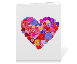 """Тетрадь на клею """"День всех влюбленных"""" - любовь, день святого валентина, валентинка, i love you, день влюбленных"""