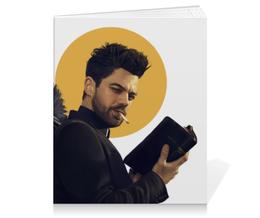 """Тетрадь на клею """"Пастырь"""" - комиксы, dc comics, preacher, проповедник"""