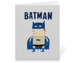 "Тетрадь на клею ""Бэтмен"" - прикольные, комиксы, batman, супергерои, бэтмен"