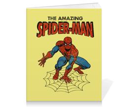 """Тетрадь на клею """"Человек-паук"""" - комиксы, супергерои, spider man, человек паук, spiderman"""