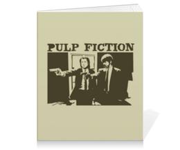 """Тетрадь на клею """"Pulp Fiction"""" - кино, фильм, тарантино, криминальное чтиво, pulp fiction"""