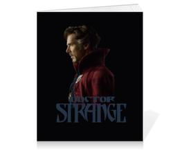 """Тетрадь на клею """"Доктор Стрэндж"""" - бенедикт камбербэтч, доктор стрэндж, doctor strange"""