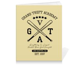 """Тетрадь на клею """"GTA  """" - игры, grand theft auto, gta, гта, геймерские"""