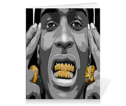 "Тетрадь на клею ""ASAP Rocky"" - арт, hip hop, rocky, asap"