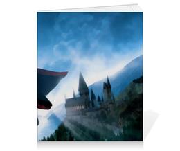 "Тетрадь на клею ""Гарри Поттер"" - сказка, гарри поттер, волшебство, магия, хогвардс"