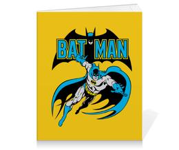 """Тетрадь на клею """"Бэтмен"""" - комиксы, batman, супергерои, бэтмен, vintage"""