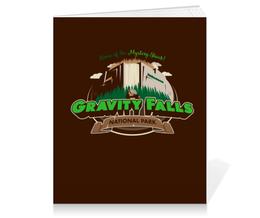 """Тетрадь на клею """"Гравити Фолз"""" - мульт, gravity falls, гравити фолз, mystery shack"""