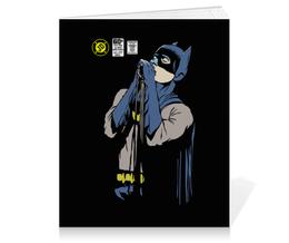 "Тетрадь на клею ""Бэтмен Иэн Кёртис"" - batman, joy division, бэтмен, ian curtis, иэн кёртис"