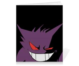 "Тетрадь на клею ""Генгар"" - нинтендо, nintendo, pokemon go, покемон го, gengar"