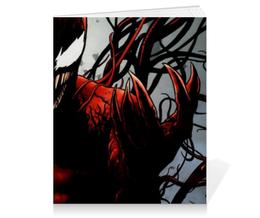 "Тетрадь на клею ""Карнаж (Carnage)"" - комиксы, marvel, марвел, карнаж, carnage"