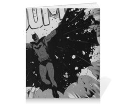 "Тетрадь на клею ""Batman"" - мультик, комикс, вэтмен"