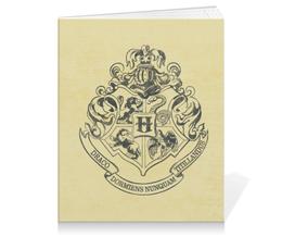 "Тетрадь на клею ""Хогвартс"" - harry potter, гарри поттер, хогвартс, hogwarts, школа магии"