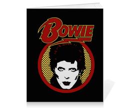 """Тетрадь на клею """"Дэвид Боуи"""" - музыка, арт, дэвид боуи, david bowie, bowie"""