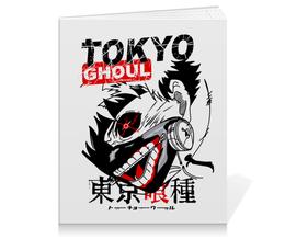 """Тетрадь на клею """"Токийский гуль"""" - аниме, манга, токийский гуль, tokyo ghoul, кэн канэки"""