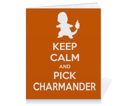 "Тетрадь на клею ""Чармандер"" - нинтендо, nintendo, charmander, pokemon go, покемон го"
