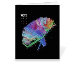 """Тетрадь на клею """"Muse """" - музыка, muse, группы"""