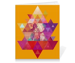 """Тетрадь на клею """"""""HIPSTA SWAG"""" collection: Salvador Dali"""" - сальвадор дали, swag, свэг, salvador dali, геомерия"""