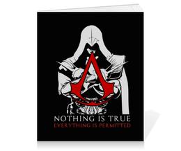 """Тетрадь на клею """"Assassin's Creed"""" - игры, assassins creed, assassin, ассасин, геймерские"""